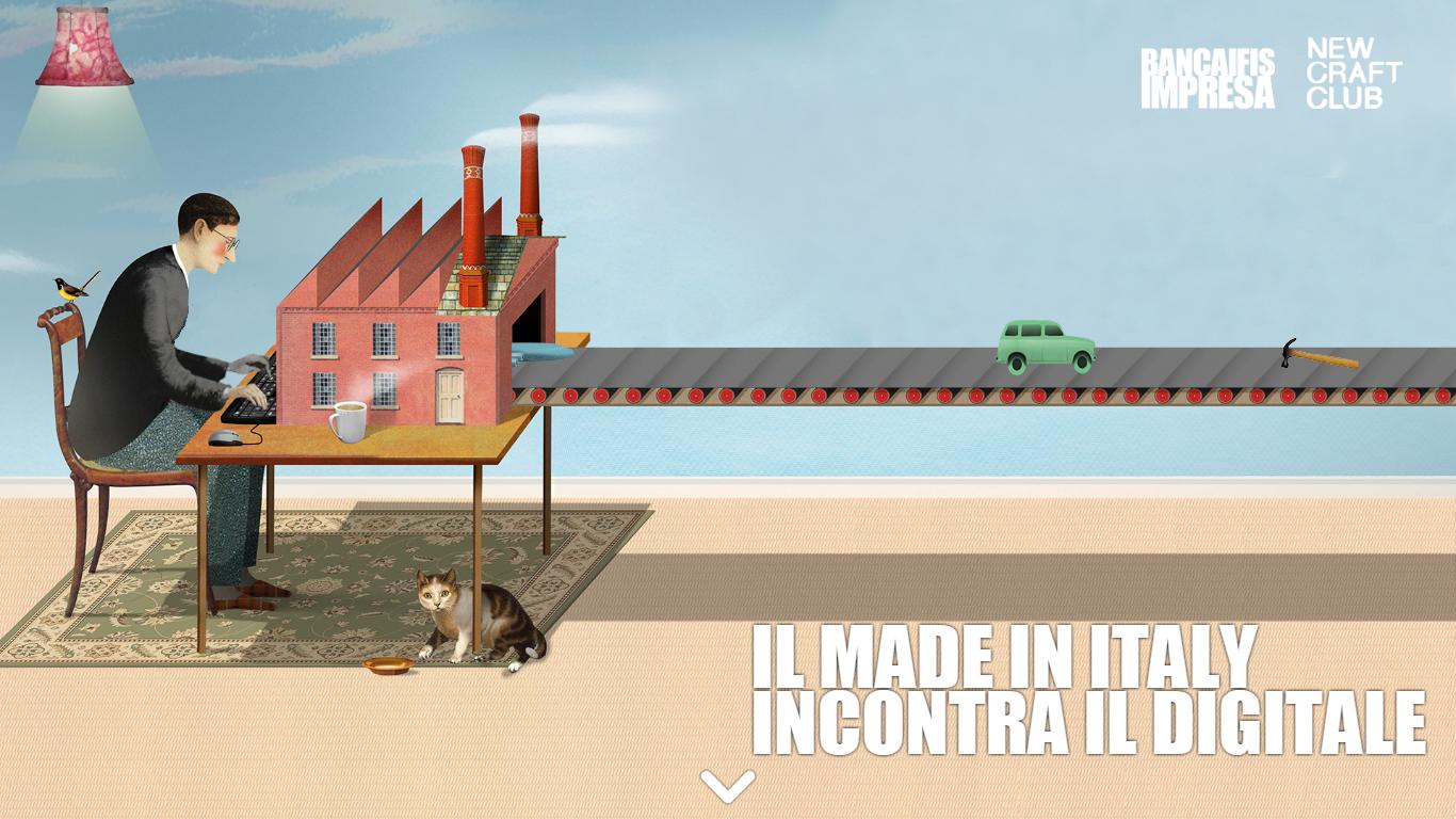 """Foto Web Report """"Il Made in Italy Incontra il Digitale"""" realizzato da Quantitas (azienda di VEGAinCUBE)"""