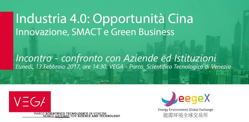 Foto Industria 4.0: Opportunità Cina Innovazione, SMACT e Green Business