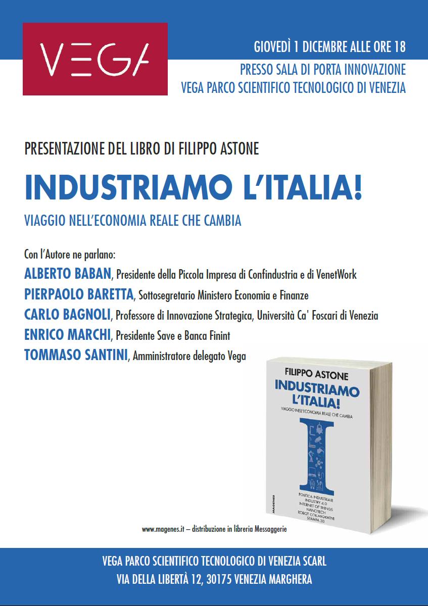 Foto Presentazione del libro Industriamo l'Italia