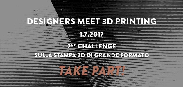 Foto Designers meet 3D printing – 2nd Challenge!