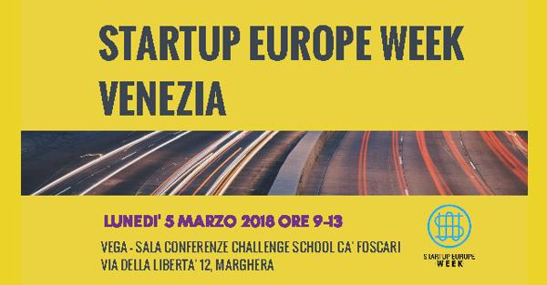 Foto Startup Europe Week Venezia