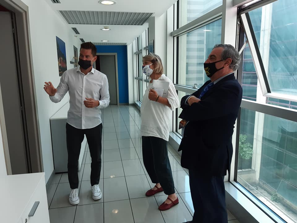Foto Incontro con Andrea Affaticati, giornalista austriaca, per un reportage che sarà pubblicato nei giornali tedeschi DIEZEIT e N-TV.DE